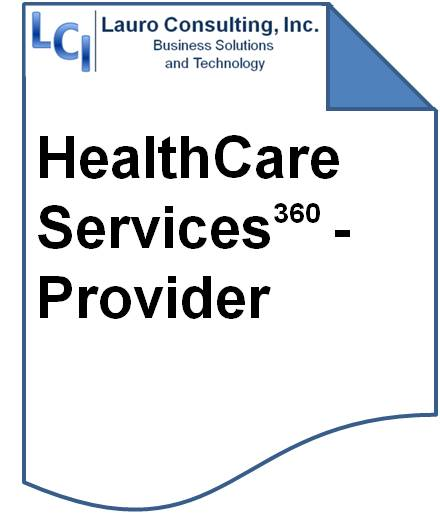 LCI's HealthCare Service360 - Provider Solution