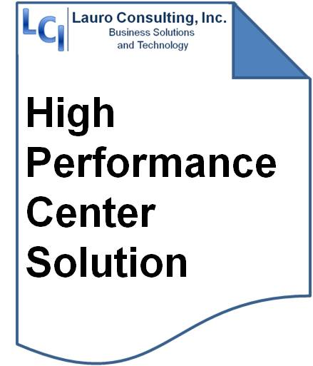 LCI's High Performance Center Solution