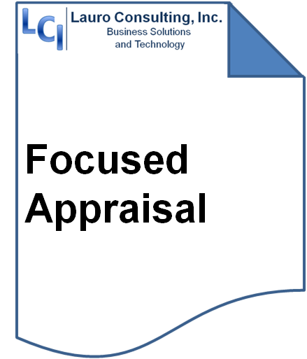 LCI's Focused Appraisal